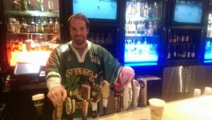 Local bartender Jesse Burk in the Mariott hotel Pittsburgh!